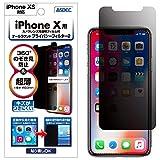 ASDEC アスデック iPhone XS/iPhone X 兼用 のぞき見防止フィルム ・360° 上下左右 4方向・映り込み防止 反射防止・指紋防止 防指紋・キズ防止・極薄0.3mm オールラウンド・プライバシーフィルター2 ・日本製 RP-IPN14 (iPhoneXS, X/覗き見防止)
