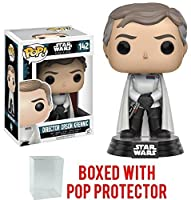 Funko Pop Star Wars: Rogue One - Director Orson Krennic 142 Vinyl Figure (Bundled with Pop Box Protector Case)