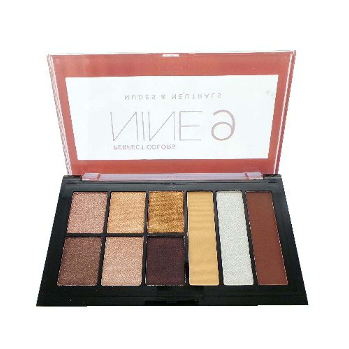 NICKA K Perfect 9 Nudes & Neutrals Palette (並行輸入品)