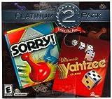 Yahtzee &Sorry Twice The Fun (Jewel Case) - PC by Atari [並行輸入品]