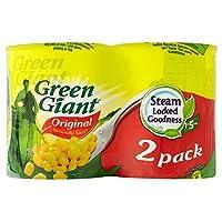 Green Giant Niblets Original Sweetcorn (2x198g) 緑の巨人は、元のスイートコーン( 2X198G )をniblets