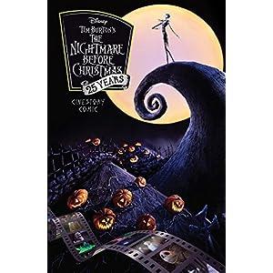 Tim Burton's The Nightmare Before Christmas Cinestory Comic 25th Anniversary Special Edition