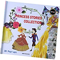 fityle 3d Pop Up Books for Kids Boys Girls ( Story Book、ベビーブック、子供たちのBook ) – Princess Story