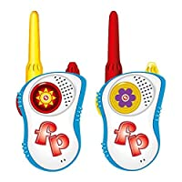 Fisher-Price Walkie Talkies with 100Ft Talking Range Open AreaSafe and Durable Belt Clip Included 【You&Me】 [並行輸入品]