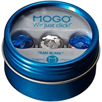 Mogo Design Team Bling Collections Blue-Clear-Blue