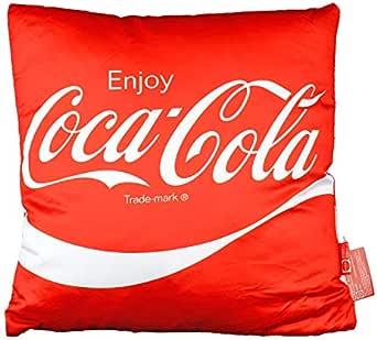 コカ・コーラ クッション レッド Enjoy Coca-Cola! 36×36cm COCA-COLA インテリア アメリカ雑貨
