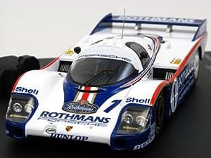 【hpi・racing】1/43 ポルシェ 956LH No.1 1982年ルマン優勝車 「ロスマンズ」加工品