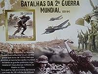 サントメプリンシペ切手『第二次世界大戦』(東部戦線) 未使用