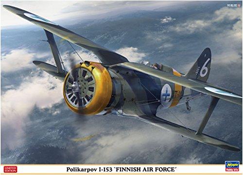 1/48 ポリカルポフ I-153 フィンランド空軍  07461  ハセガワ  H 07461 ポリカルポフ I-153 フィンランド  B
