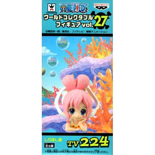 ONE PIECE ワンピース ワールドコレクタブルフィギュア vol.27 TV224:しらほし姫 単品