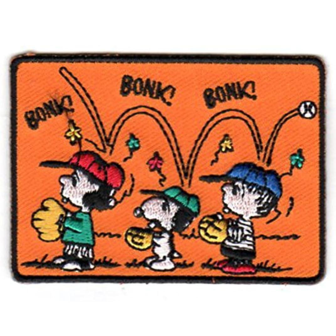 アラブ人招待例ワッペン PEANUTS スヌーピー (BONK!) SNOOPY 犬 ウッドストック グッズ キャラクター USJ 男の子 女の子