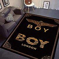 YETUGE-X ラグカーペット 絨毯カーペット 長方形 四角 防音 おしゃれ 洗える 北欧 オールシーズン カーペット 絨毯 リビングラグ (120*160CM,122)