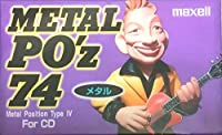 日立マクセル メタルテープ 74分 METAL PO'z メタル FOR CD MPOZ-74