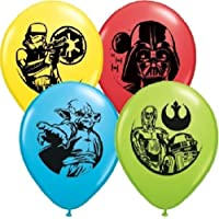 loonballoon Star Wars Darth Vader Yoda c3po r2d2 Trooper 6パーティーラテックス装飾バルーン