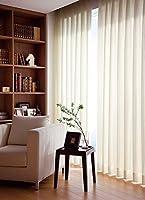 東リ トラッドな印象のストライプ カーテン1.5倍ヒダ KSA60460 幅:200cm ×丈:180cm (2枚組)オーダーカーテン