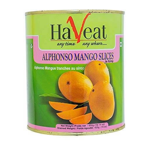 アルフォンソ マンゴースライス 850g 6缶 Haveat