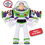 Disney Toy Story 4 - Buzz Lightyear Deluxe Space Ranger Talking Action Figure Figurine