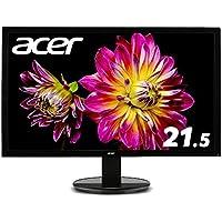 Acer モニター ディスプレイ K222HQLbmidx 21.5インチ/HDMI端子対応/スピーカー内蔵/フリッカーフリー