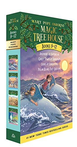Magic Tree House Volumes 9-12 Boxed Setの詳細を見る