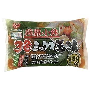 ヨコオデイリーフーズ 蒟蒻小鉢3色玉こんにゃく250g×15個