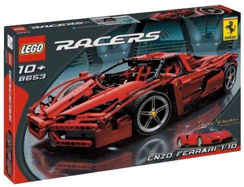 レゴ (LEGO) レーサー エンツオ・フェラーリ 1/10 8653
