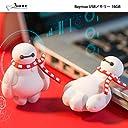 ディズニー ピクサー マーベル キャラクター USBメモリー 16GB USBメモリ Disney Pixer Marvel フラッシュドライブ BoneCollection (ベイマックス(ホワイト))