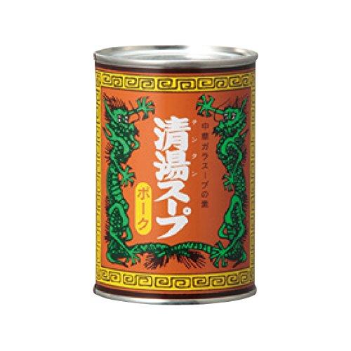 MCフードスペシャリティーズ 清湯スープ ポーク 4号缶×24