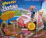 バービーBeachビーチBlastパーティー32?Piece PlayセットW」ジープ、「サーフボード&Sail、BBQ、&More 。( 1988?Arco Toys , Mattel )