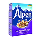 Alpen No Added Sugar Blueberry, Cherry and Almond, 560g