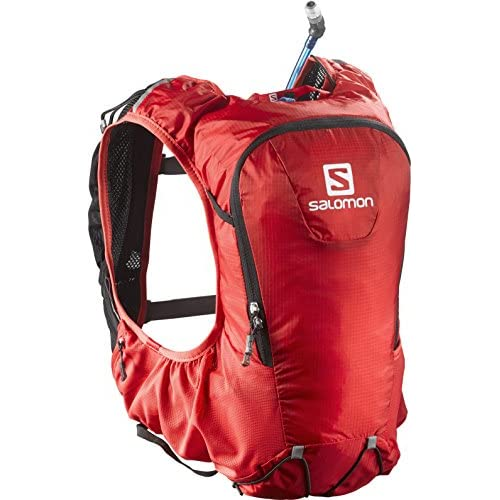 [サロモン] ランニングバッグ SKIN PRO 10 SET L37996700 BRIGHT RED/BLACK