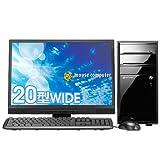 マウスコンピュータ Lm-i500S-P20W 20型ワイド液晶セットモデル (Windows 7モデル) ( Core2Duo E7500 2GB 500GB Windows7HomePremium 20W )