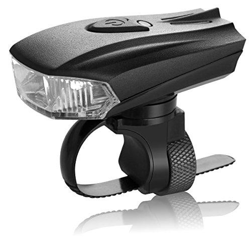 Sivia 自転車ライト LED ヘッドライト USB充電式 五つの点灯モード サイクル リチウムイオン電池