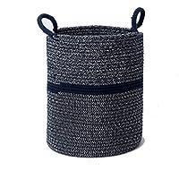 余分な大規模なストレージバスケット綿ロープ織り緑の材料耐久性のある、シンプルでスタイリッシュなシーンの様々なホームストレージバスケット (サイズ さいず : 36 * 42CM)