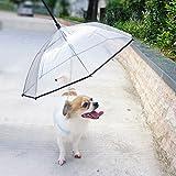 Lesypet ペット 傘 散歩用 レイングッズ 猫用 小型犬 中型犬