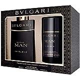 Bvlgari (BVLLO) Man in Black Eau de Perfume with Deodorant Stick Gift Set for Men, Pack of 2