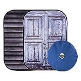 Lastolite バックグラウンド アーバン背景 1.5x2.1m シャッター/ドア 折り畳み式 LL LB5717