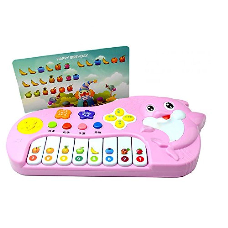 教育玩具、baomabao赤ちゃん子供ミュージカル教育動物ファームピアノDevelopmentalトイ