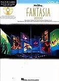 ディズニー ファンタジア2000 バイオリン・ソロ楽譜 プレイ・アロング/マイナスワン (カラオケ)CD付