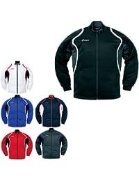 アシックス(asics) デコトレーニング ジャケット XAT10D メンズ スポーツ ジャージ 吸汗 UV 消臭