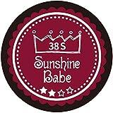 Sunshine Babe カラージェル 38S レッドペア 4g UV/LED対応