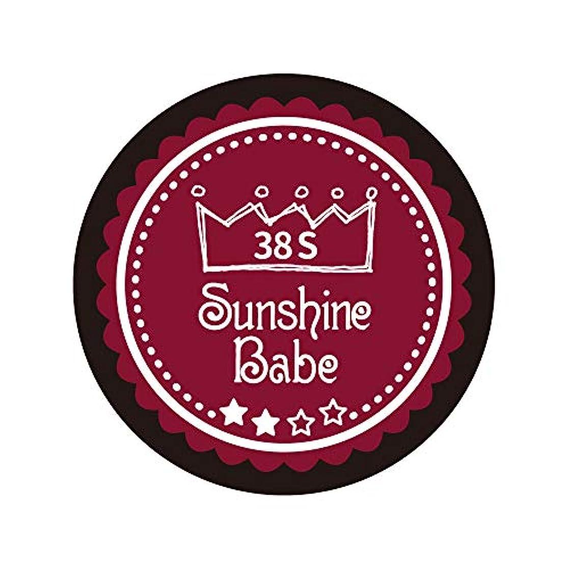 シルエット科学ペストSunshine Babe カラージェル 38S レッドペア 2.7g UV/LED対応