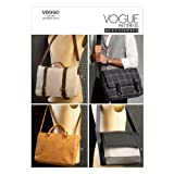 【vogue patterns】4種類のメッセンジャーバッグmessenger bag の型紙 *8990
