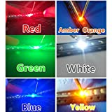 Amazon.co.jpzmart 1608 0603 SMD チップLED 100x6色 600個赤黄青緑オレンジ白