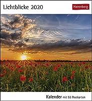 Lichtblicke 2020: Kalender mit 53 Postkarten