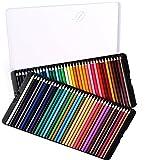 色鉛筆 72色 油性色鉛筆 カラフル スケッチ 塗り絵 イラスト描き 描き用 子供/大人の塗り絵用