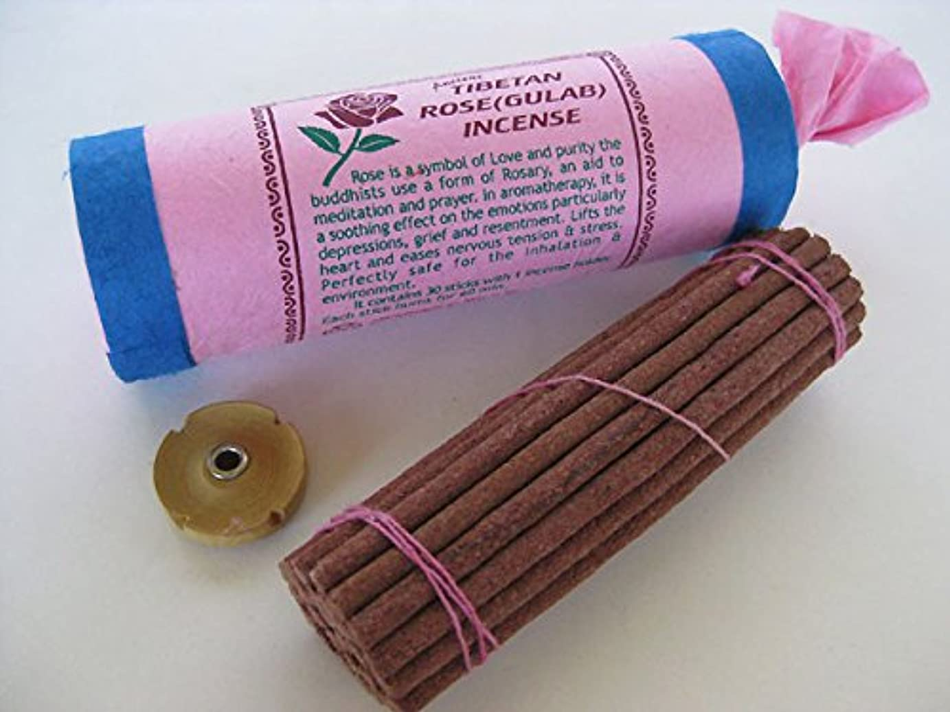 古代チベットローズ( Gulab ) Incense