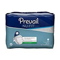First Quality Incontinent Brief Prevail Tab Closure Large Disposable Moderate Absorbency (#NU-013/1, Sold Per Pack) by Prevail