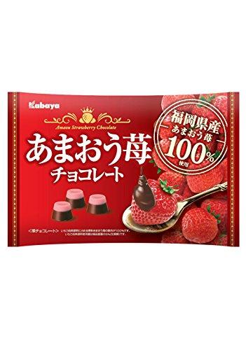 カバヤ あまおう苺チョコレート 155g×6袋