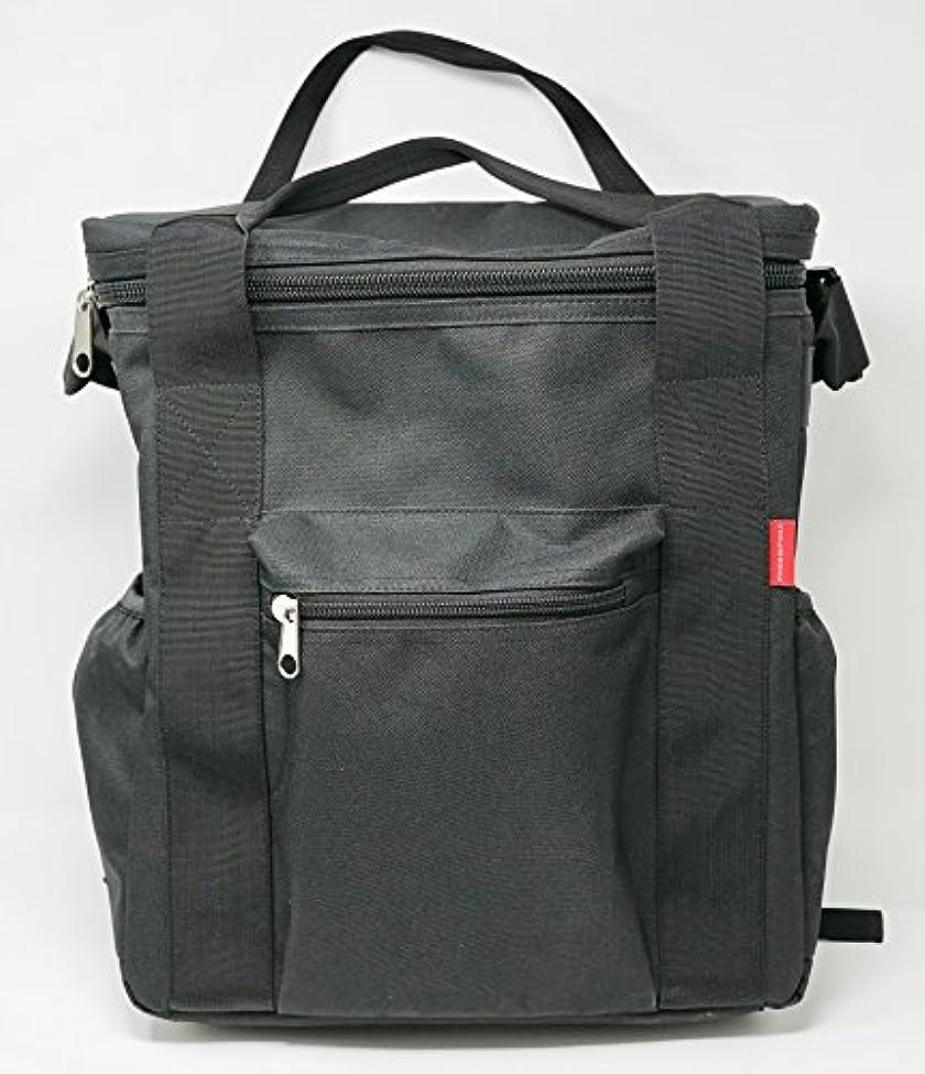 構造サイト書き込みリュック?肩かけ?手持ちの3通りに使用できるレコードバッグ PP-B03
