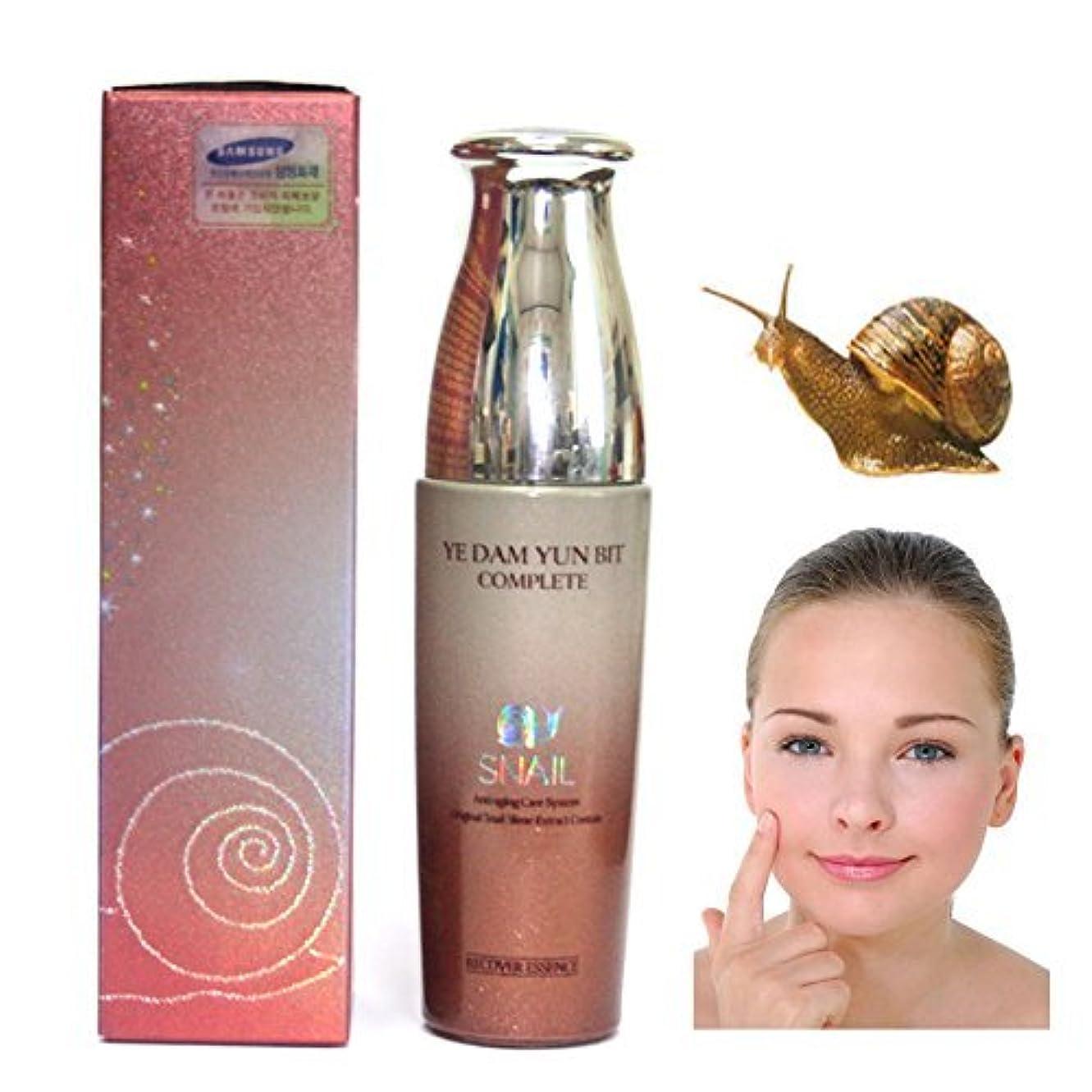 束ねる白鳥ヒゲクジラ[YEDAM YUN BIT] 完璧なスキンカタツムリ女エッセンス50ml/COMPLETE SKIN Snail Woman Essence 50ml/韓国化粧品/Korean cosmetics [並行輸入品]